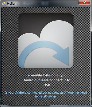 helium接続待機中
